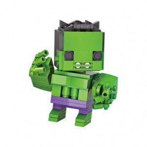 LOZ Brick Headz Hulk