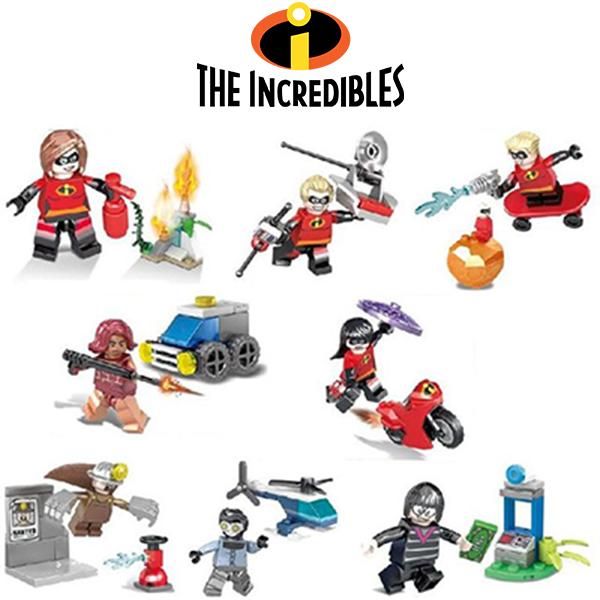 Incredibles Σετ Συλλεκτικές Φιγούρες