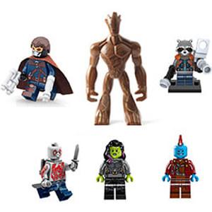 Guardians of the Galaxy Σετ Συλλεκτικές Φιγούρες
