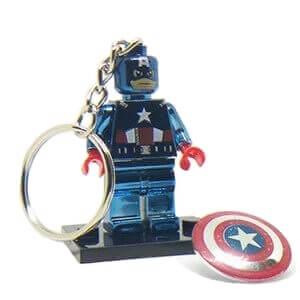 Μπρελόκ Captain America Chrome