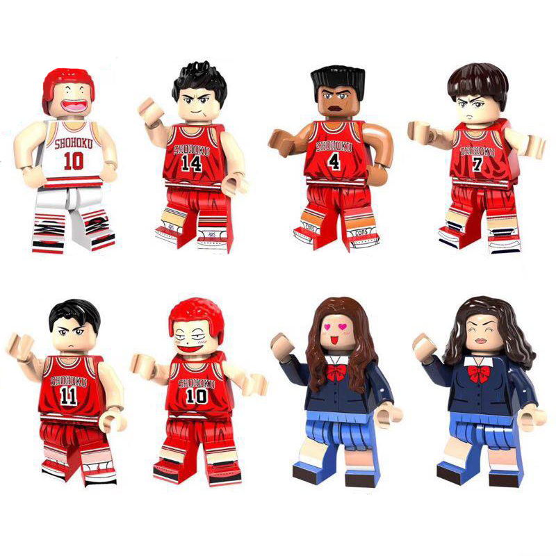 Shohoku Basketball Team Σετ Συλλεκτικές Φιγούρες
