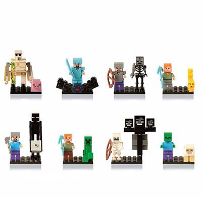 Minecraft Σετ Συλλεκτικές Φιγούρες
