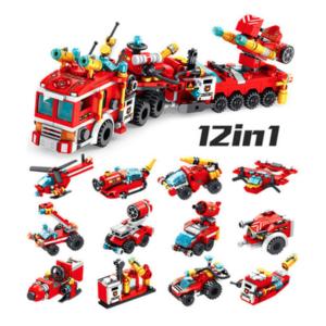 Πυροσβεστικό Όχημα (12σε1) Exclusive