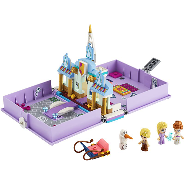 LEGO Disney Princess Frozen Anna + Elsa's Storybook Adventures (43175)