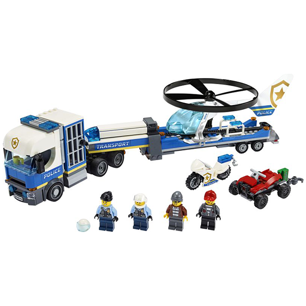LEGO City Police Helicopter Transport (60244)