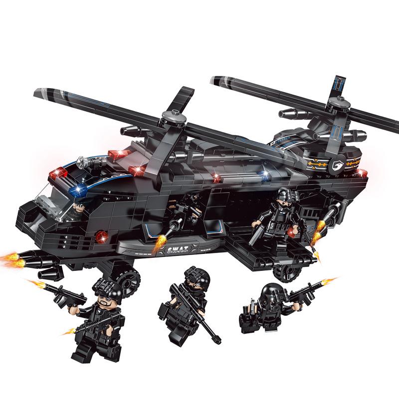 Ελικόπτερο Αστυνομίας SWAΤ