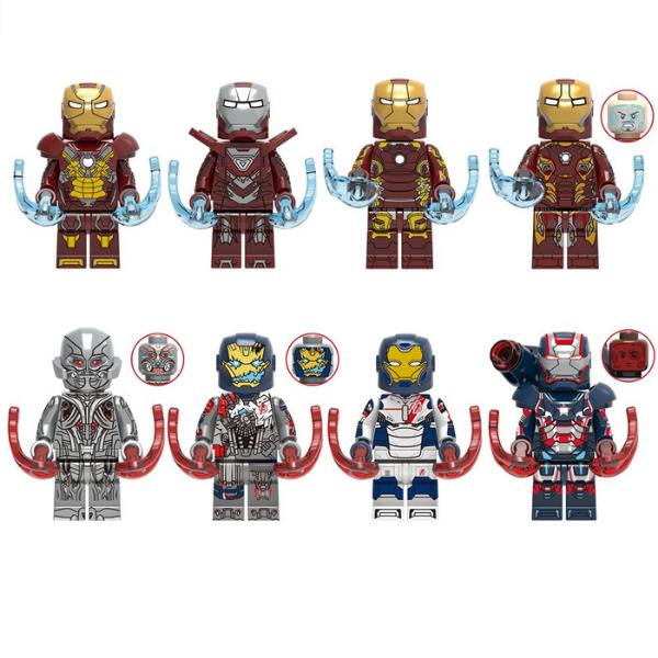 Ironman Σετ Συλλεκτικές Φιγούρες