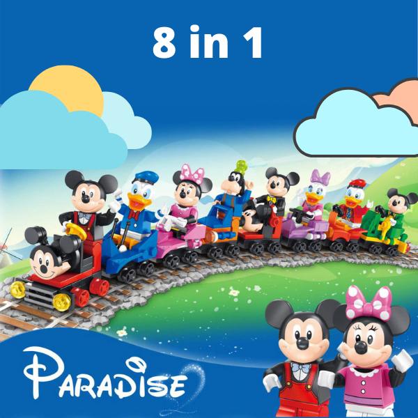 Τρενάκι Disney 8 σε 1
