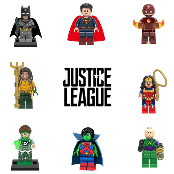 Justice League Σετ Συλλεκτικές Φιγούρες