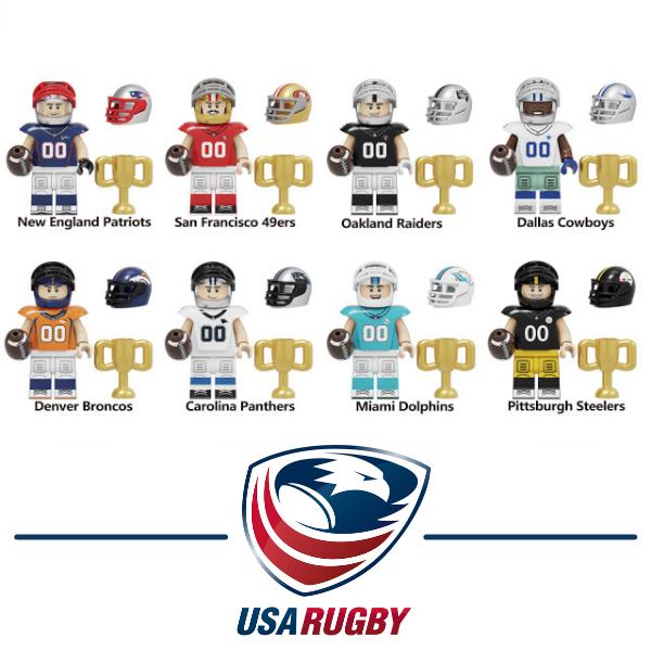Ομάδα Rugby Σετ Συλλεκτικές Φιγούρες