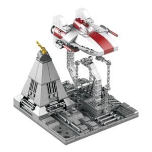 Star Wars A-Wing Starfighter με Βάση Ισορροπίας