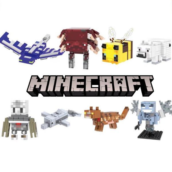 Minecraft Σετ Συλλεκτικές Φιγούρες Ζωάκια