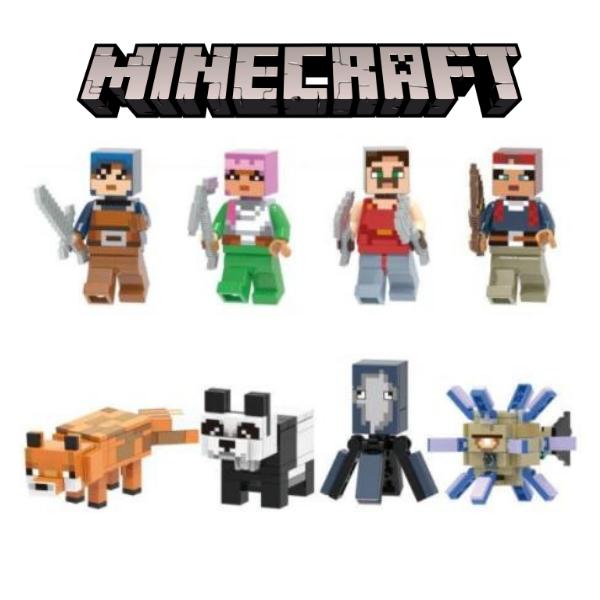Minecraft Σετ Συλλεκτικές Φιγούρες Ιππότες