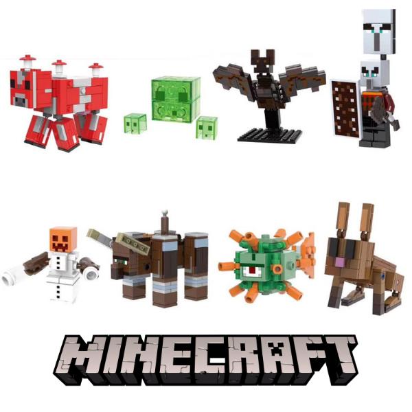 Minecraft Σετ Συλλεκτικές Φιγούρες Ήρωες του Δάσους