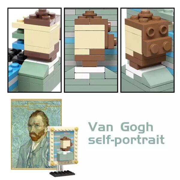 Self portait, Vincent Van Gogh