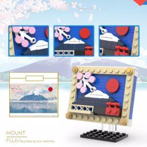 Ανθισμένες Κερασιές στο βουνό Fuji