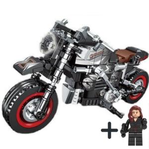 Μηχανή Black Widow + Φιγούρα