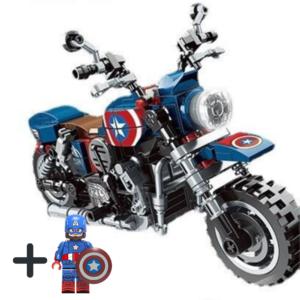 Μηχανή Captain America + Φιγούρα