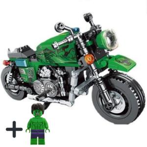 Μηχανή Hulk + Φιγούρα